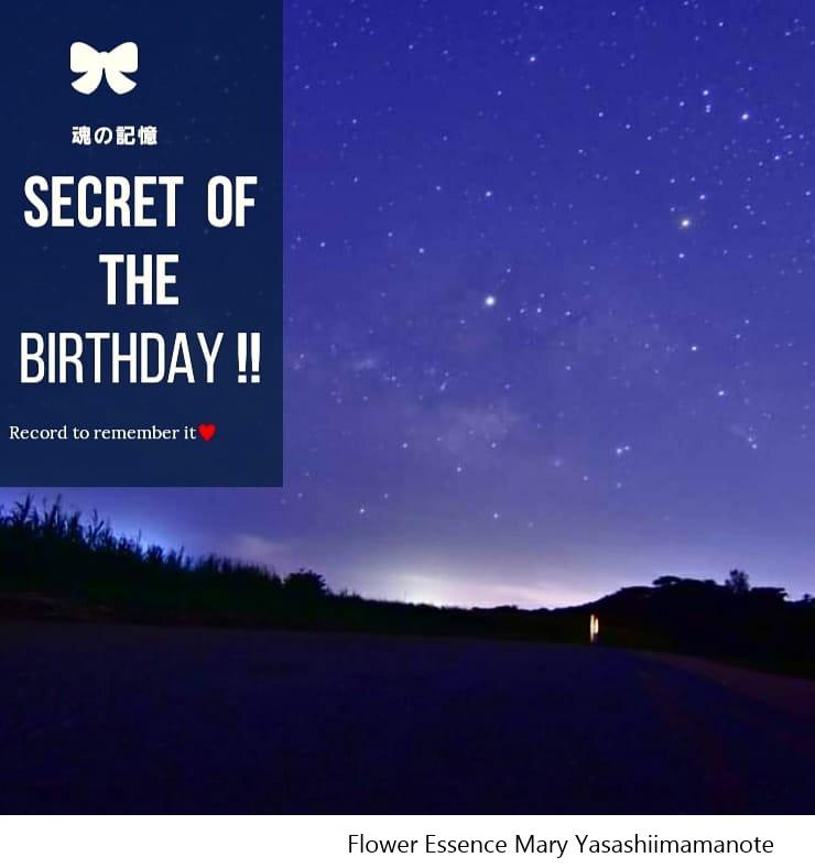SECRET of the BIRTHDAY !!~魂の記憶